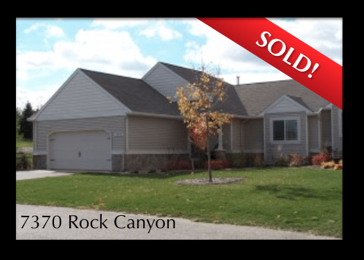 SOLD!  7370 Rock Canyon