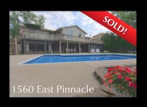 1560 Pinnacle Sold!