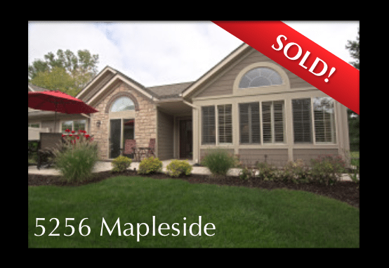 SOLD!  5256 Mapleside