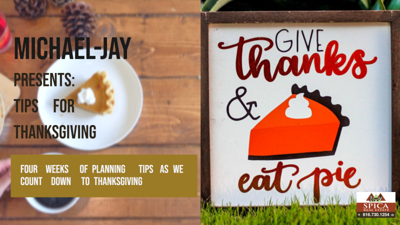 Planning Your Thanksgiving Meal (Give Thanks & Eat Pie)