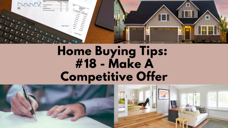 Home Buying Tip: Make a Competitive Offer