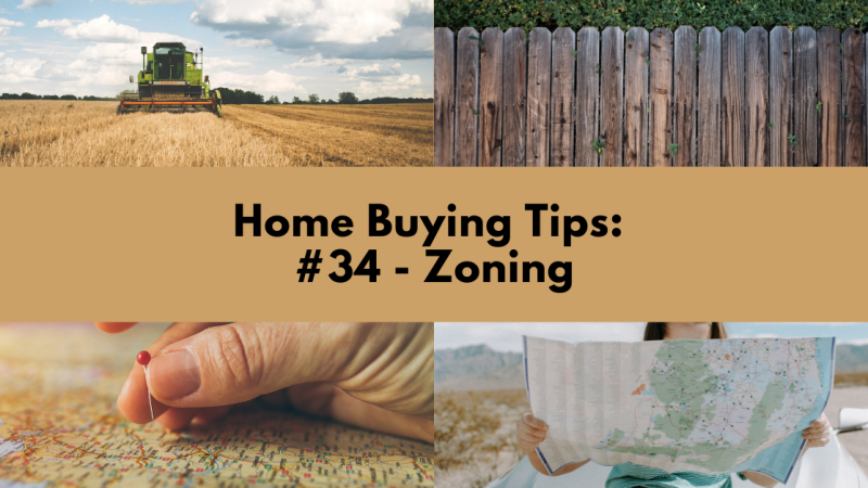 Home Buying Tip: Zoning